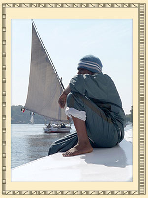Felouka op de Nijl