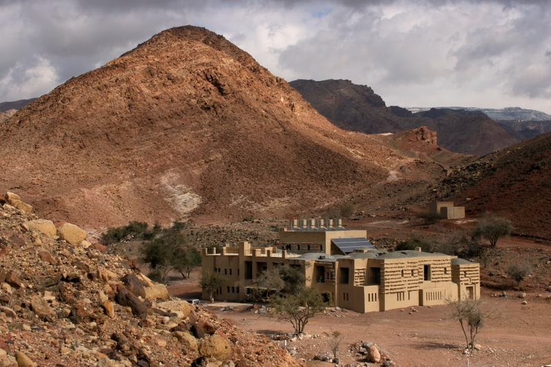 The idyllic 26-room lodge resting in the magnificent Wadi Feynan