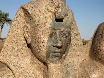 close up amenhotep iii