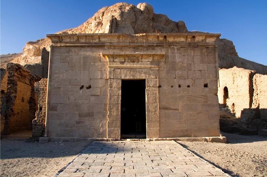 Zuid-Egypte reis, Deir el Medina, Hathor tempel, Annie Wright Photography