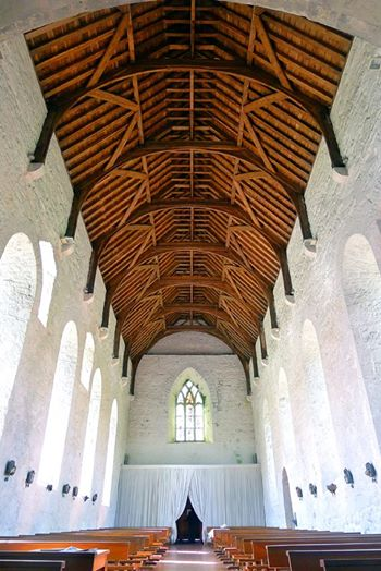 Balintubber Abbey Roof