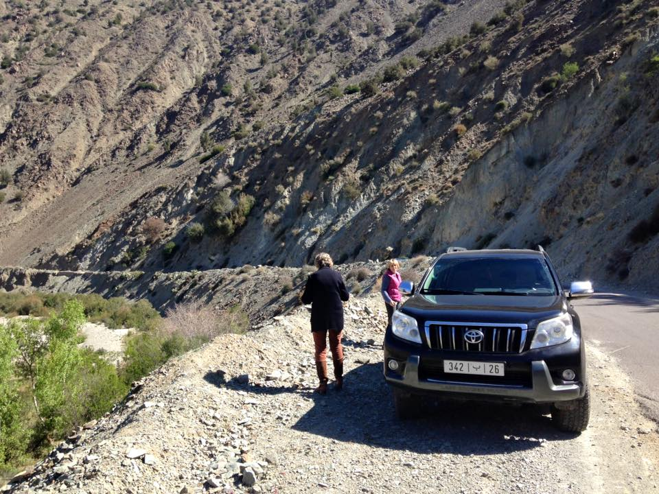 Zuid-Marokko vervoer met 4 wheel drive Het Vliegende Nijlpaard