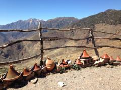 Tizi-n-Test pas over de Hoge Atlas, Zuid-Marokko