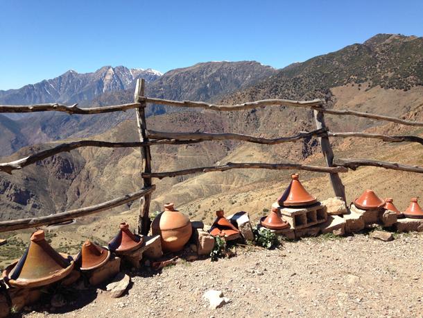 Themareis Zuid-Marokko. Tizi-n-Test pas over de Hoge Atlas