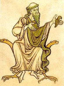 Glendalough, de heilige Kevin