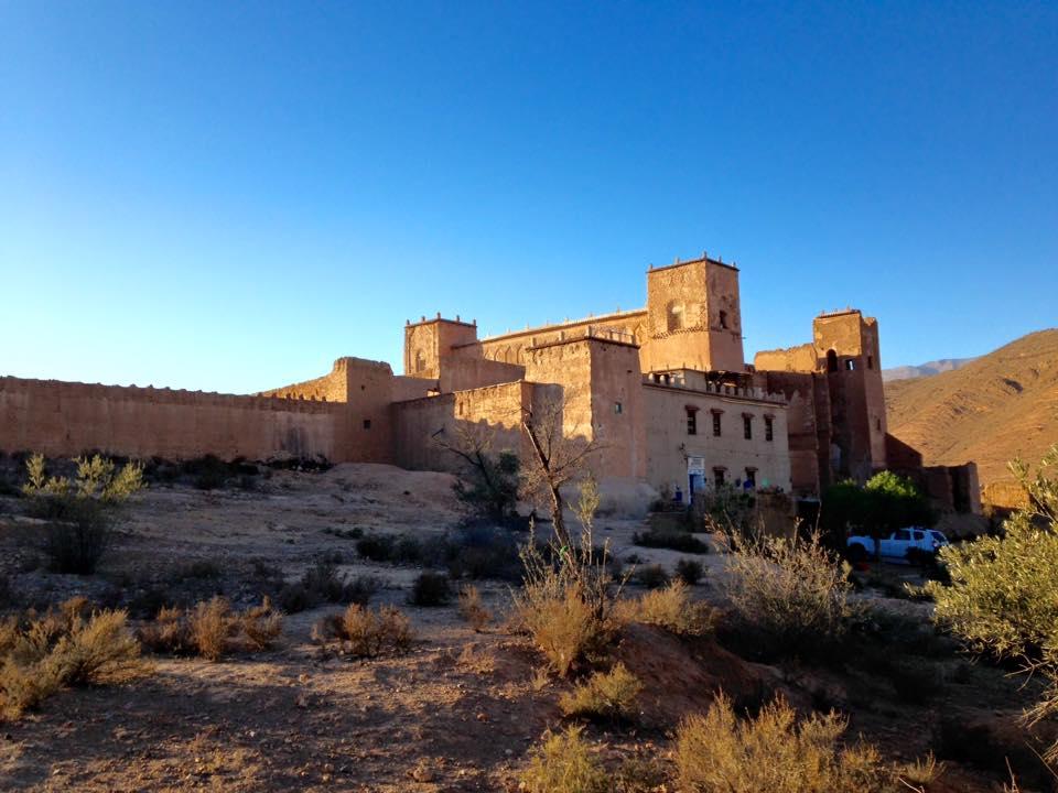 accomodatie, kasbah Taliouine, Zuid-Marokko met Het Vliegende Nijlpaard