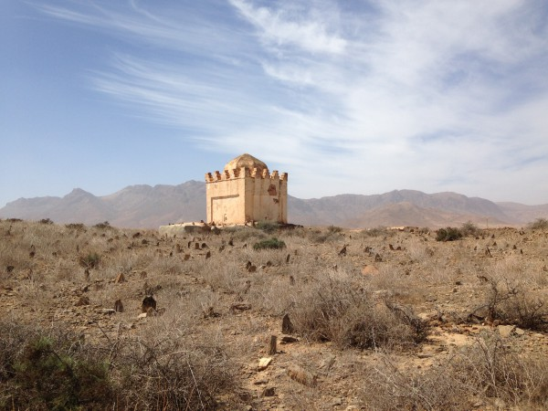 maraboet van Sidi Boebker, Illigh, themareis Zuid-Marokko