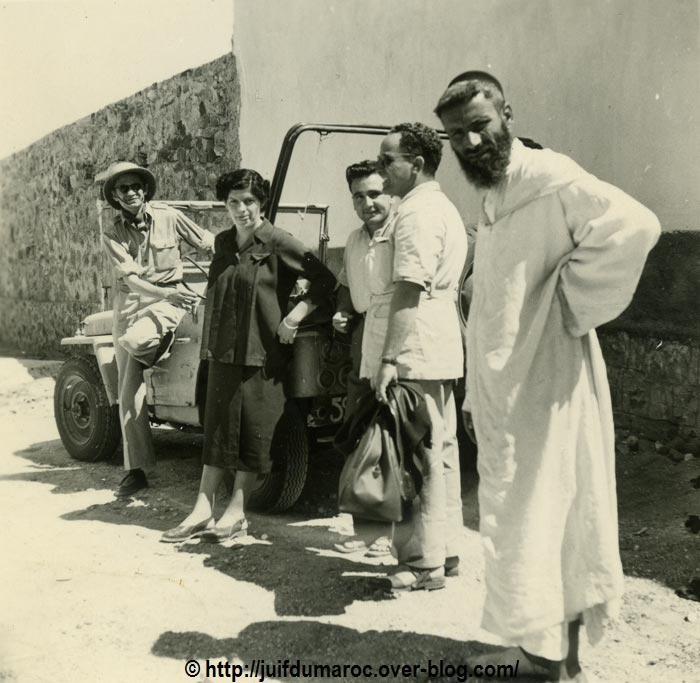 Marokkaanse joden in Iligh, Tazeroualt filmploeg van Ils seront des hommes