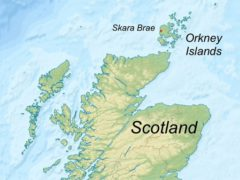 Orkney de positie