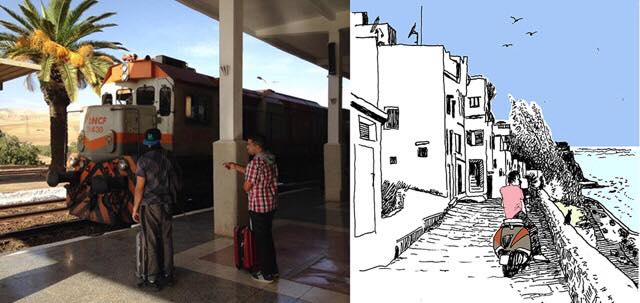 treinreis Marokko