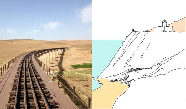 Marokko, romntiek van een treinreis