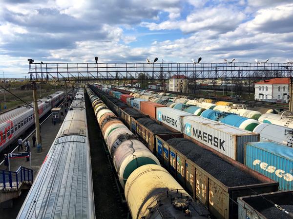Transsiberië Express Transport