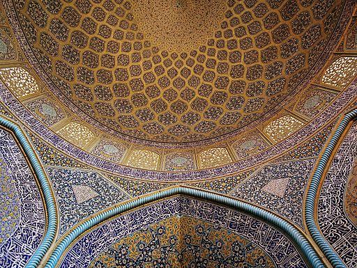 Perzië Iran Sheik Lotf Allah Moskee Isfahan © Philip Maiwald
