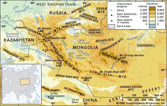 Transsiberië Scythen Altai gebergte