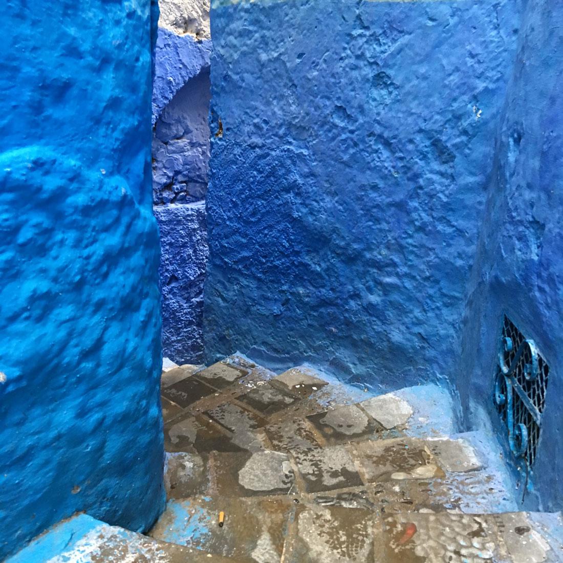 Chefchaouen de blauwe stad door Annie Wright
