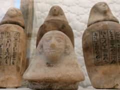 ondergrondse mummificatiewerkplaats Sakkara